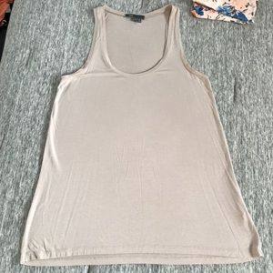 Vince Basic Loose Fitted Tank